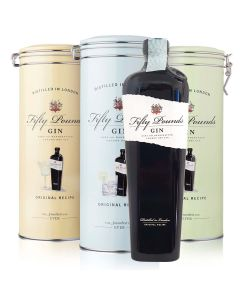 Fifty Pounds Gin Metall Gehause