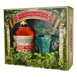 Don Papa Rum Verpackung Monkey Mit Glas Limited Edition