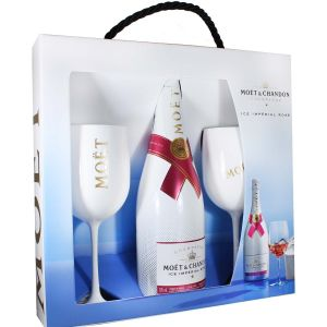 The Perfect Serve Ice Imperial Rosè Champagne Moet & Chandon